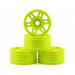 Yellow Split Six V2 1/8 Buggy Rims (4)