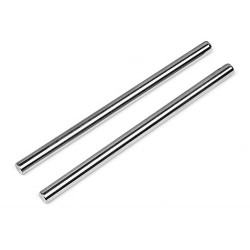 SUSPENSION SHAFT 4x71mm Silver (FRONT/INNER)