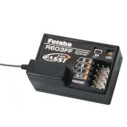 Futaba R603FF 3-Channel 2.4GHz FASST Rx 3PM 3PK 4PK
