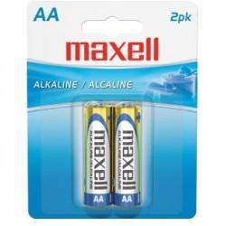 Baterías alcalinas Maxell AA (2)