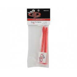 DE Racing Buggy Tire Spikes (Red) (2)