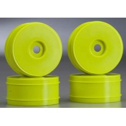 JConcepts Mono 1/8 Buggy Wheel Max-Ups Yellow (4)