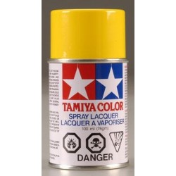 Tamiya PS-6 Polycarb Spray Yellow 3 oz Plastic Model Paint