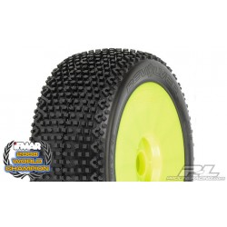 Pre-mounted Revolver tires, M3 Soft Mounted on V2 Yellow Wheels