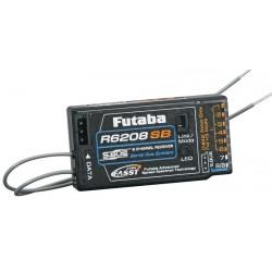 Futaba R6208SB 8-Ch 2.4GHz FASST Hi-Voltage Rx