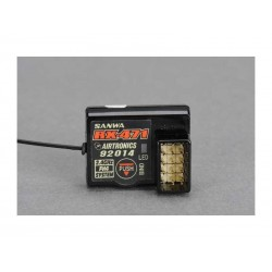 Sanwa RX-471 2.4Ghz FHSS-4 4-Channel Receiver (M12/MT4)