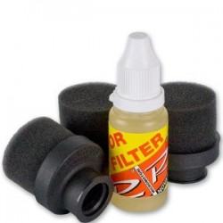 On Road Sponge Air Filter Set for .21 (3 filters & oil 20ml) - New