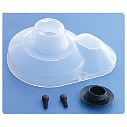 Molded Gear Cover, clear