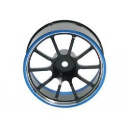 Sanwa Aluminum Steering Wheel Blue M12/M12S