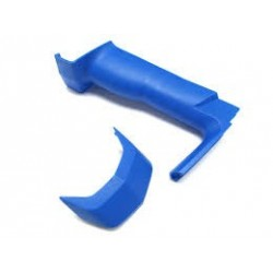 Sanwa Grip & Cover Set MEDIUM BLUE M12/M12S