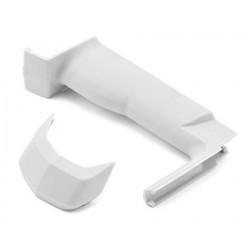 Sanwa Grip & Cover Set MEDIUM WHITE M12/M12S