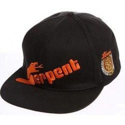 Cap flat-brim Serpent black 35th Anniversary