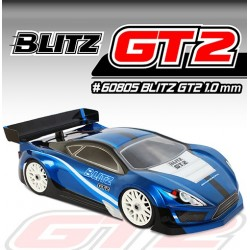 BLITZ GT2 Body w/ Wing - 1/8