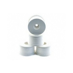 OFNA 17mm Half Offset (28mm) Monster Truck White Dish Wheels (4)