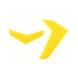 Blade Stabilizer/Fin Set, Yellow (Blade 400)