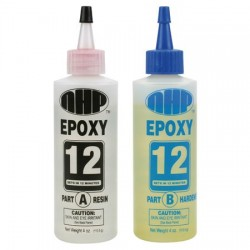 NHP 112 Mid-Set 12 minute epoxy 8oz. Set