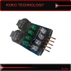 RC lipo battery low voltage buzzer