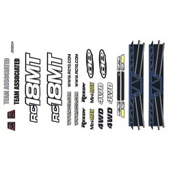 18MT Decal Sheet and Window Masks, color