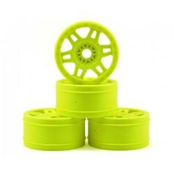 Yellow Split Six V2 1/8 Buggy Rims (4)