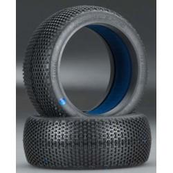JConcepts Hybrids 1/8 Buggy Tire Blue (2)