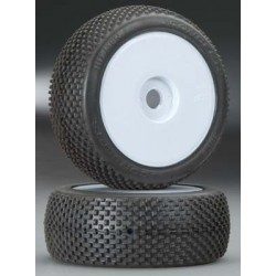 JConcepts Subculture 1/8 Buggy Tire Blue Yellow Whl (2)