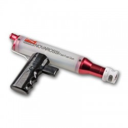 Fuel gun with guide