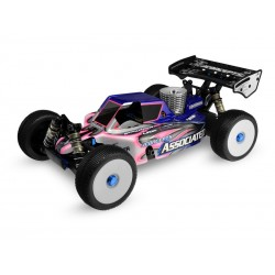 """JConcepts Associated RC8.2 """"Finnisher"""" Body (Clear)"""