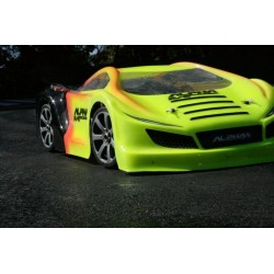 ALPHA R6 GT RACE BODY (INCLUDES MASK AND STICKERS)