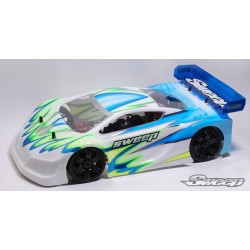Sweep Racing 8th GT Clear Body P1L