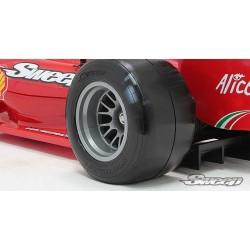 10th F1 Super Soft rear tire 2pc pre glued set F104 V2