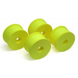 LPR Truggy Wheels, yellow Zero Offset