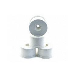 OFNA 17mm Half Offset (28mm) Monster Truck White Dish Wheels (4)