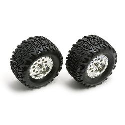 18MT Wheels, Tires, Insert, mounted